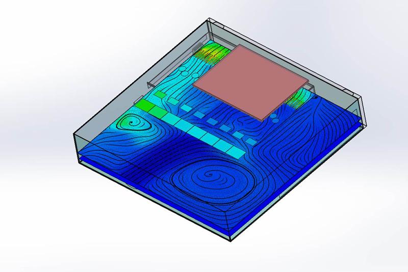 CFD mathematical model