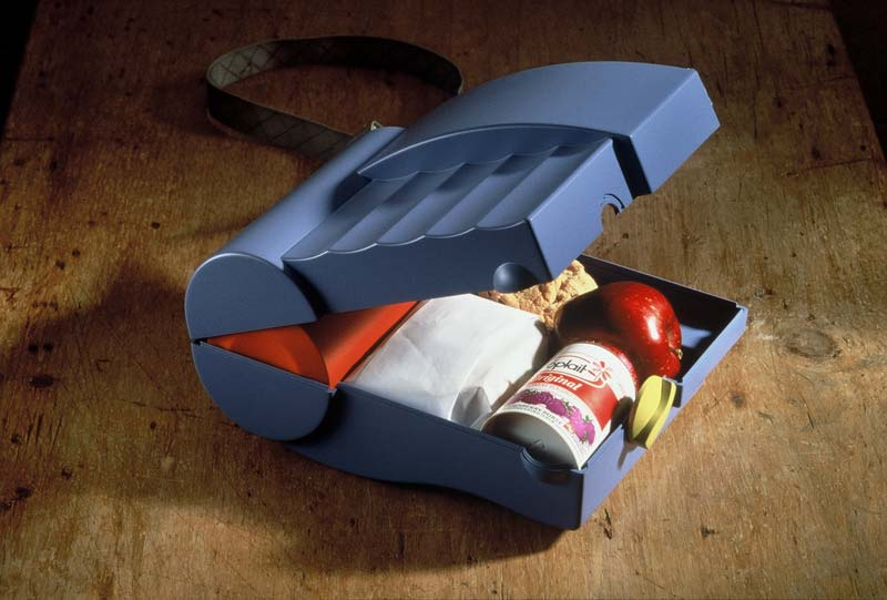 Snap Together Lunchbox, open view