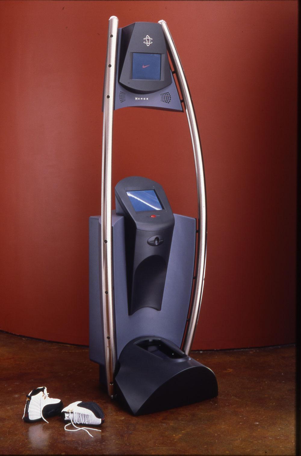 Nike foot scanner prototype