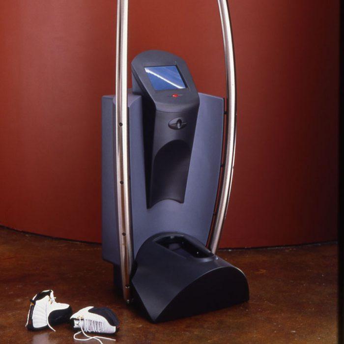 Nike foot scanner